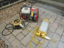 Honda Generator EG 1900 X 5HP 115 and 230 volt output. Max.output 1.9 KVA