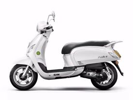 SYM FIDDLE 125cc 2016 **4 years left on warranty!