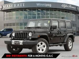 2014 Jeep Wrangler UNLIMITED SAHARA; ONE OWNER, ACCIDENT FREE