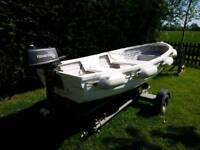 12ft Tender/fishing boat package