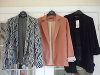 Bundle of 3 Ladies Jackets - Size 6 and 8