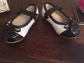 "Size 3 Patent toddler shoes ""so cute"""