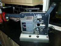 Bell and Howell 16mm film movie projector 1958 mint condition working