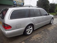 (2001)MERCEDES BENZ E CLASS ESTATE (7 SEATER)2.1.CC DIESEL ........AUTO.....