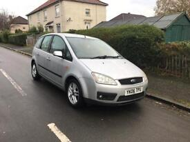 2006 FORD FOCUS C-MAX 1.6 ZETEC MOT TILL MAY 2018