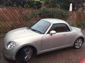 Beautiful classic, champagne gold, convertible Copen