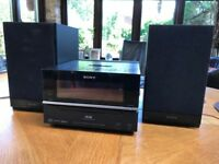 Sony stereo system model number HCD-BX70DBi