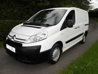 2011 (61) CITROEN DISPATCH 1000 HDI 1.6 DIESEL 54227Mls NO VAT ONLY 2 OWNERS WHITE