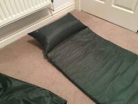 Regatta 3cm Self Inflating Single Camping Mat Mattress with Pillow