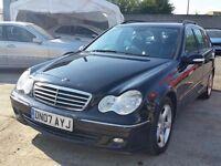 2007 Mercedes C220 CDI ESTATE AUTO Diesel FSH needs some work