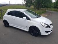 2010 vauxhall corsa 1.2 limited edition 3 door hatch back white
