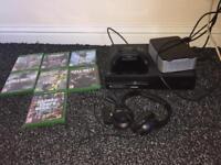 Xbox One 500 GB + 2TB HITACHI Storage Box + Headset and Games