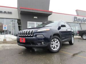 2014 Jeep Cherokee NORTH 4WD 1-OWNER TRADE-IN!!