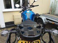 Suzuki Bandit GIVI Pannier & Topbox Rack