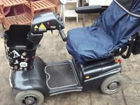 mobility scooter rascal 388xl,4 wheeled,8 mph,free local delivery other at cost of fuel.