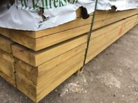 6 x 2 Inch Treated Timber C24 Construction Grade 4.8m Lengths