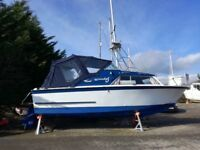 Coronet 24 Boat Ideal for Fishing and Weekends away