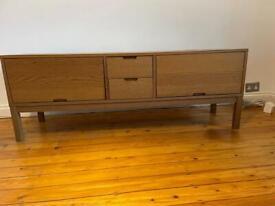 Large Hardwood TV Stand