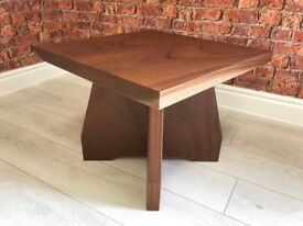 Solid Walnut Square Coffee Table