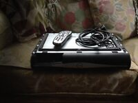 Sky box with remote and cables £30