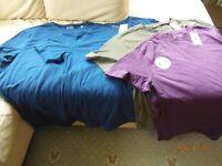4 Brand new Tu T-shirts