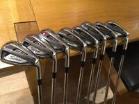 Titleist AP2 714 iron set 3-PW KBS Tour 105 stiff shafts