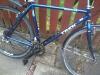 "trek mountain bike 21speed 21""alloy frame 27"" wheels model multitrack 750 nice tidy"