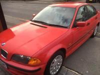 1998 Bmw 3181 manual fsh red very claen