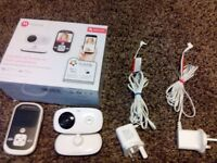 REDUCED PRICE-Motorola MBP662 HD baby monitor with WIFI + MOBILE APP for viewing OTG-COLLECTION ONLY