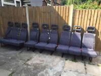 9 van seats