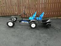 Kids go cart from 5 years as new