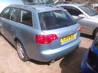 2006 AUDI A4 B7 2.0 TFSI petrol Estate Avant BREAKING FOR SPARES PARTS