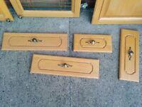 Solid Wood Oak Kitchen cupboard doors & Drawers