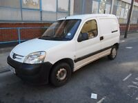 2008 PEUGEOT PARTNER BERLINGO 16HDI PANEL VAN YEAR MOT AIRCON SIDE LOADING DOOR EXCELLENT RUNNER VGC