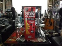 MACHINE GUN GLASS PLUS MATCHING DECANTER 650ML