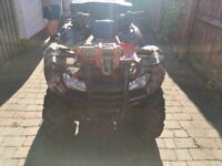 Honda trx 420 road legal agri registered