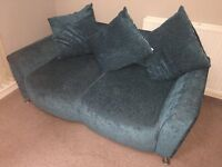 2 and 3 Seater Teal Sofas