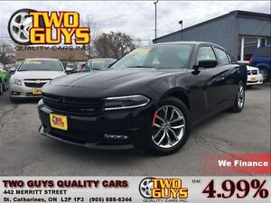 2015 Dodge Charger SXT CHROME RIMS LEATHER MOON ROOF BACK UP CAM