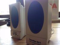TEAC Powermax 80/2 stereo computer speakers