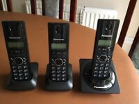 Panasonic DECT telephone - Triple