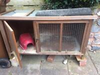 Guinea pig / rabbit hutch, and indoor cage