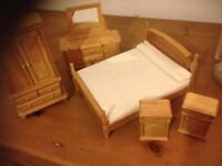 Miniature bedroom furniture