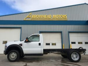 2008 Ford F-550 // Cab Chassis //6.4L Diesel