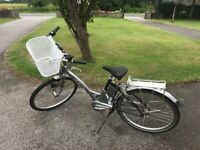Ladies electric assisted bicycle