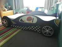 Racing Car Single Bed