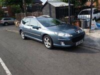 lovely peugeot 407 sw 2.0hdi gt auto