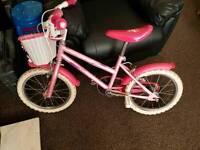 Used Girls bike 16 inch wheel