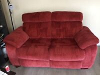 3 piece recliner plus matching 2 piece sofa only 4 years old