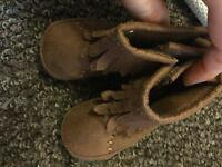 Baby boots brand new