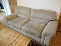 Large, 3-seater Barker and Stonehouse grey sofa for sale